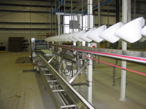 Système de récolte laitue hydroponique