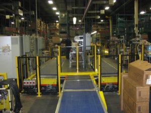 poste d'inspection contrôle de qualité électroménager